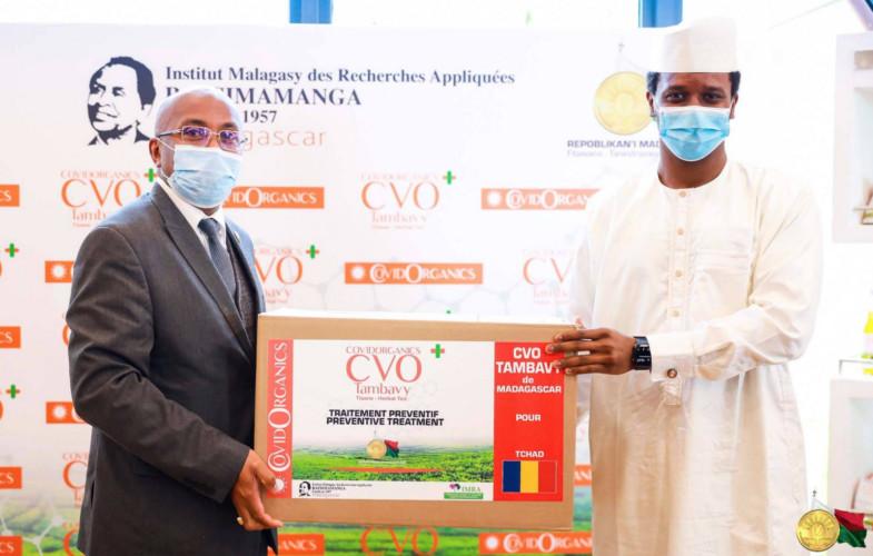 Coronavirus : une délégation tchadienne à Madagascar pour une 2e commande de Covidorganics