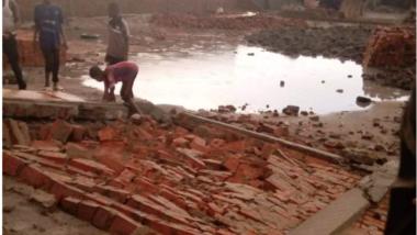 Société: des dégâts à Massakory après une grosse pluie