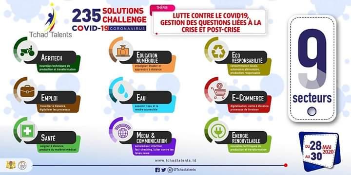 Tchad : 10 projets innovants contre le Coronavirus primés par Tchad Talents et le RJDLT
