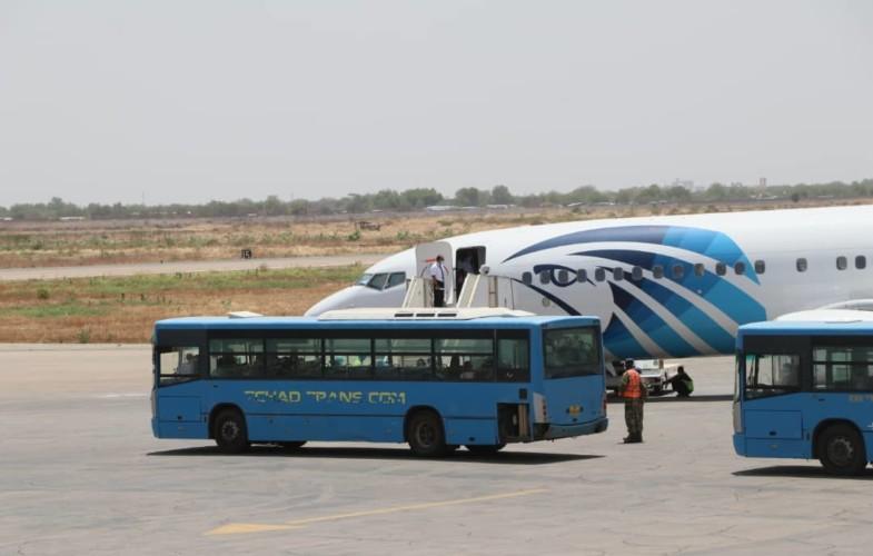 Coronavirus: 123 Tchadiens rapatriés de l'Egypte