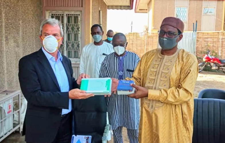 Coronavirus: l'Allemagne offre des matériels et équipements médicaux au Tchad