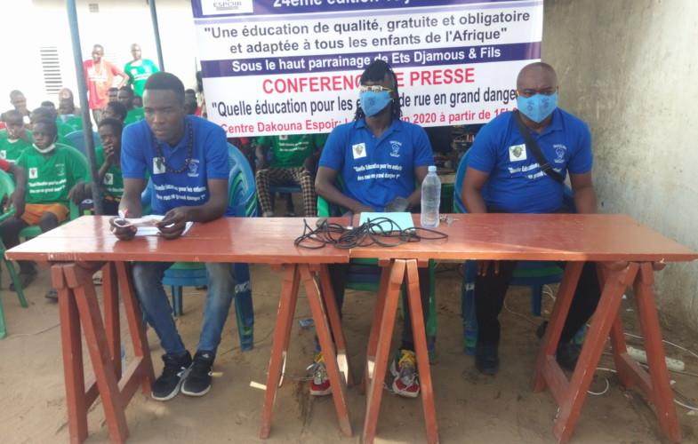 """Tchad :  éducation des """"enfants de la rue"""", une préoccupation de Dakouna Espoir"""