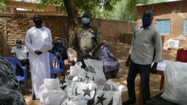 Coronavirus : le sous comité de sensibilisation a remis 20 000 masques aux ADH