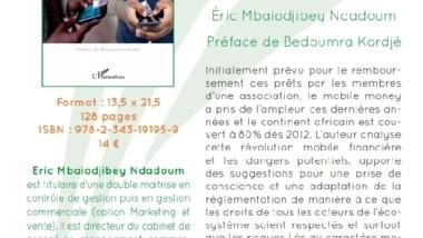 Livre: «Mobile money  en Afrique», moyen d'inclusion financère au Tchad par Mbaiodjibey Ndadoum