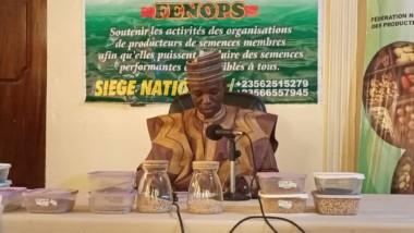 Tchad : présentation des semences et annonce de leur vente par la Fenops