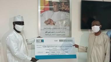 Coronavirus : les fonctionnaires tchadiens des institutions sous-régionales apportent leur soutien
