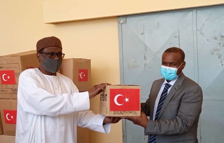 Coronavirus : réception de la 2e vague de don de la Turquie au Tchad