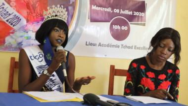 Coronavirus : la Miss Tchad 2020 présente un projet en faveur des entrepreneuses du secteur informel