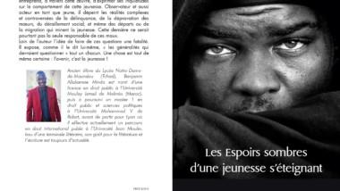 Livre : «Les espoirs sombres d'une jeunesse s'éteignant», signé Benjamin Allahmne Minda