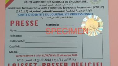 Tchad : ce qu'il faut pour avoir sa carte de journaliste professionnel