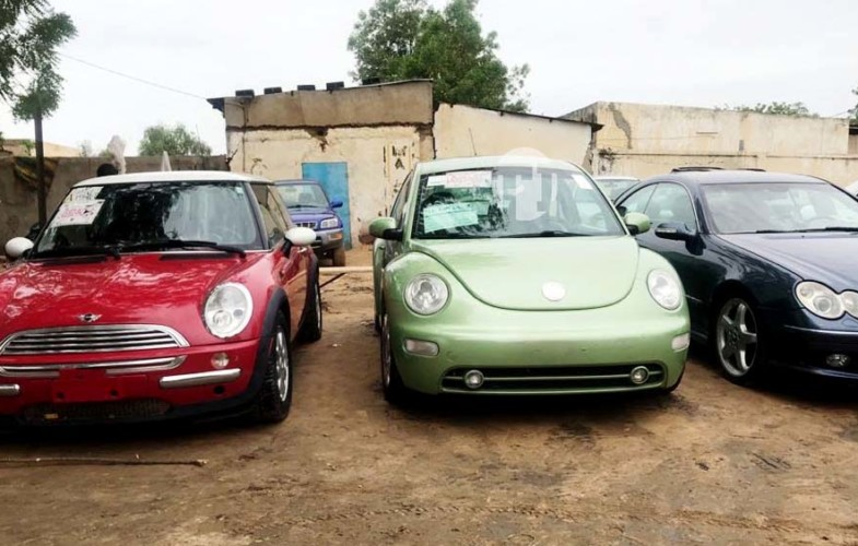 Tchad: retour des vieux modèles de voitures dans les rues de N'Djamena