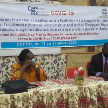 Tchad : l'Unesco promeut des techniques d'enseignement des sciences à distance