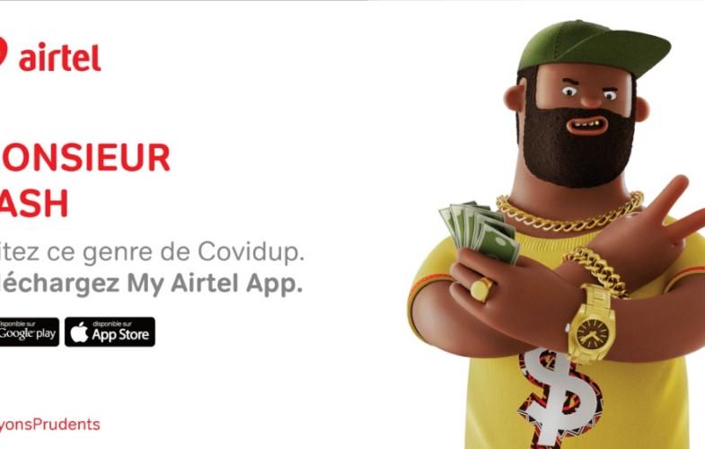 Coronavirus : Airtel Tchad lance une campagne encourageant ses clients à éviter les activités imprudentes