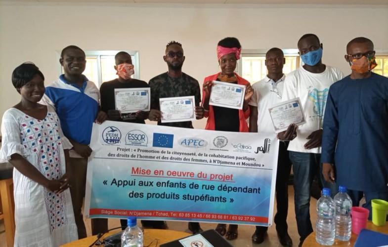 Tchad : des responsables du centre Dakouna formés sur les risques liés aux drogues
