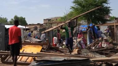 Tchad : déguerpissement au marché champ des fils