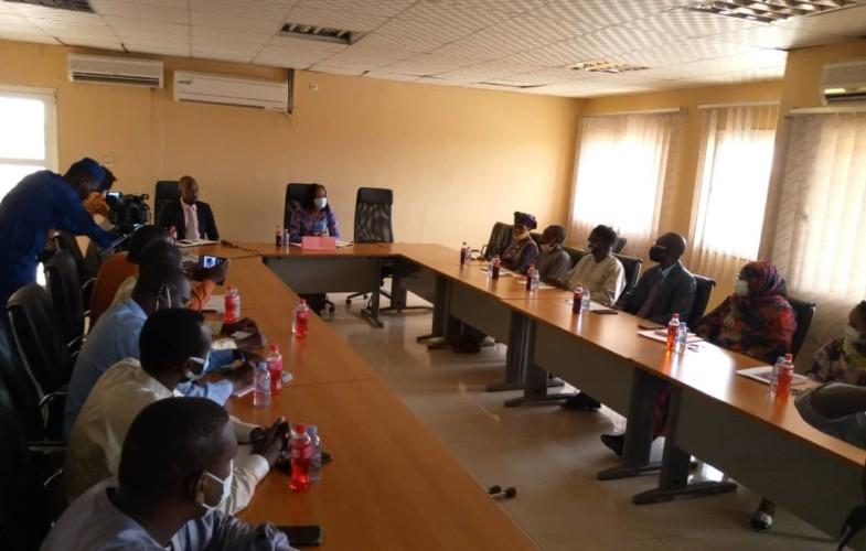 Tchad : Amina Priscille Longoh exige le respect de la hiérarchie, la conscience professionnelle et la confidentialité
