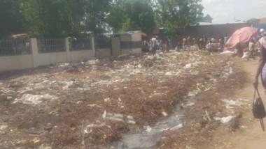 Tchad : au marché Taradona à N'Djamena, l'insalubrité gouverne le secteur