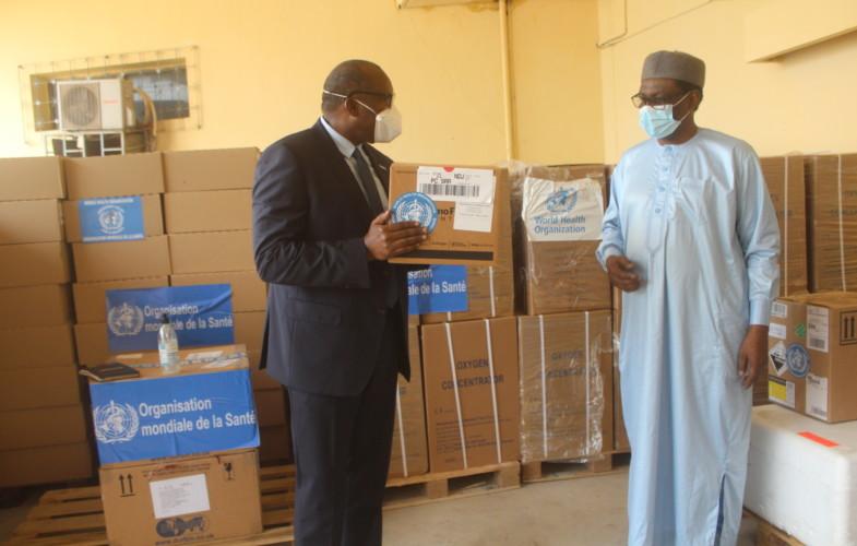 Coronavirus : l'OMS assiste le Tchad en équipements médico-techniques