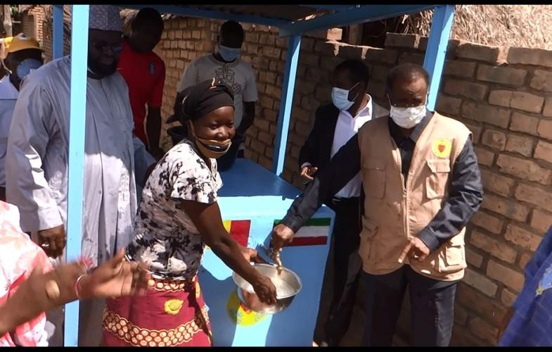 Tchad : la Fondation Grand Cœur offre de l'eau potable  à la population de Tapolo