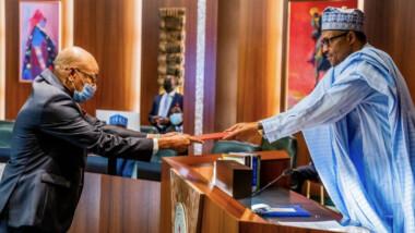 Diplomatie : Abakar Saleh Chaimi a présenté ses lettres de créances au président nigérian