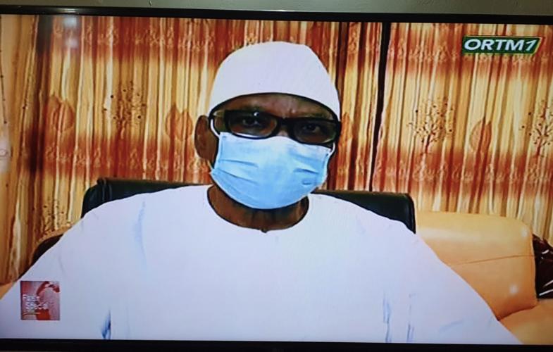 Mali : le président Ibrahim Boubakar Keïta annonce sa démission