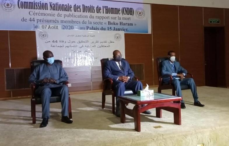 Tchad : les  44 présumés membres de Boko Haram sont morts des mauvaises conditions selon la CNDH