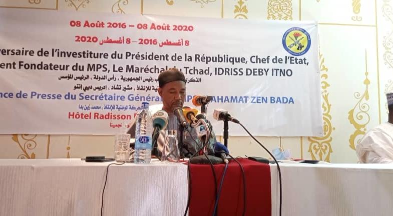Tchad : Mahamat Zene Bada satisfait du bilan des 4 ans du président Déby