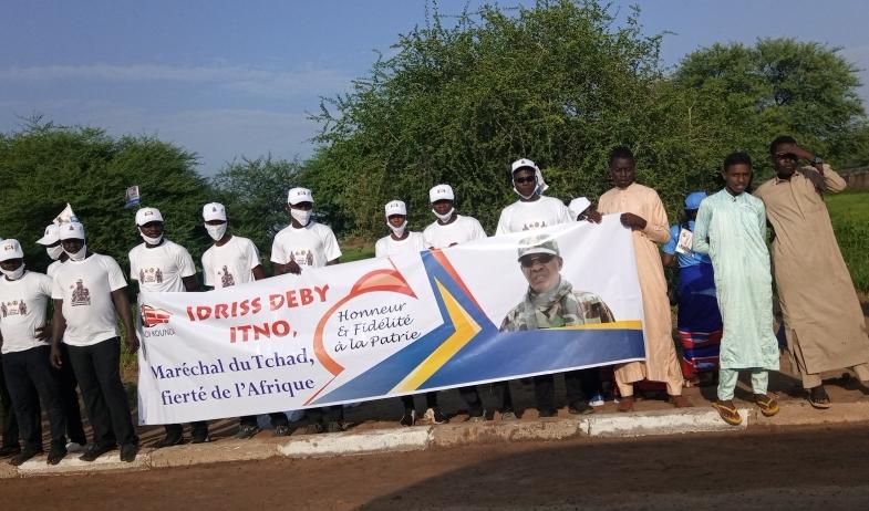 Forte mobilisation pour l'élévation du président Déby au titre de Maréchal du Tchad