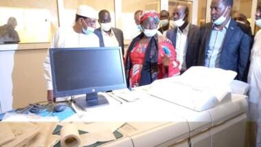 Tchad : l'ATPE a reçu dans ses locaux le ministre de la Communication