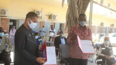 Coronavirus : l'OMS fait don de matériels au Tchad