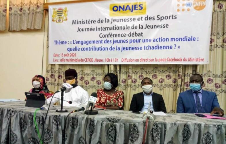 Tchad : le volontariat et l'engagement des jeunes au cœur d'une conférence-débat