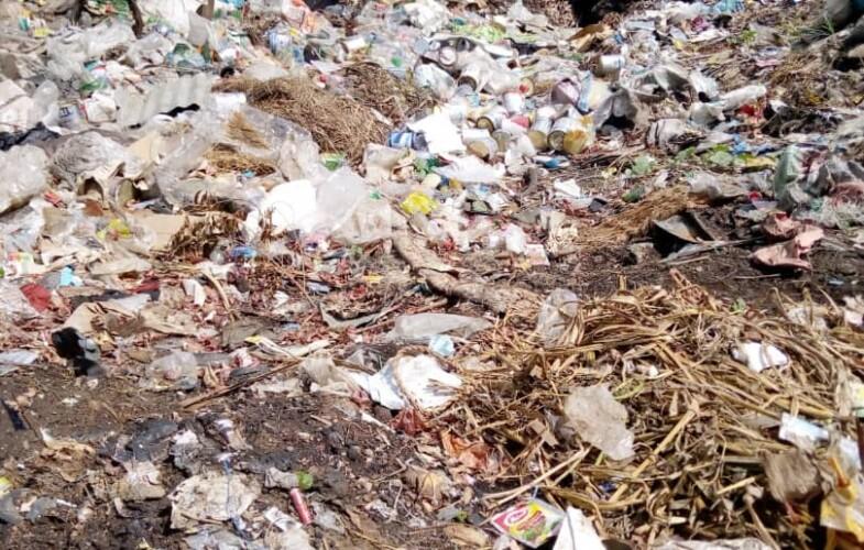 N'Djamena: voici les endroits de la ville où les ordures sont remarquables