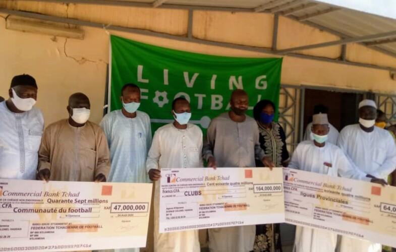 Tchad : 275 millions de FCFA pour soutenir les parties prenantes au football