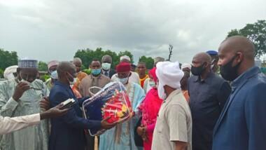 Tchad : Abdoulaye Sabre à Am-Timan pour assister les sinistrés du Salamat