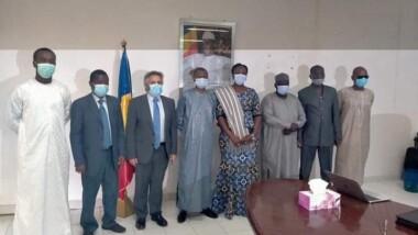 Tchad : le représentant de la Banque mondiale au Tchad échange avec le ministère des finances et du budget