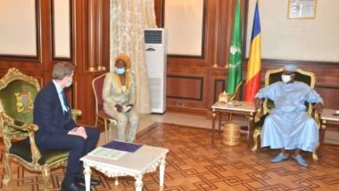 Tchad : le président Déby échange avec une délégation de Glencore