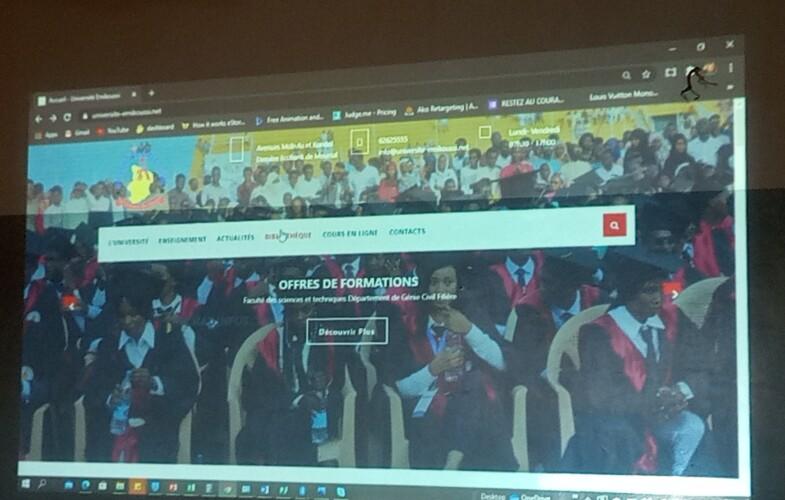 Tchad : une bibliothèque numérique pour s'adapter à la pandémie du coronavirus