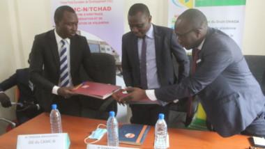 Tchad : le centre CAMC-N signe un accord de partenariat avec le centre d'animation  du droit