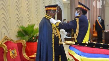 Tchad : Idriss Déby fait officiellement Maréchal du Tchad.