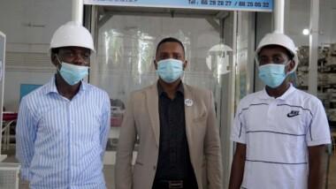 Iyalat: des jeunes créent des tunnels de désinfection