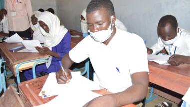 Education: le Tchad crée un centre d'examen dans un camp de réfugié