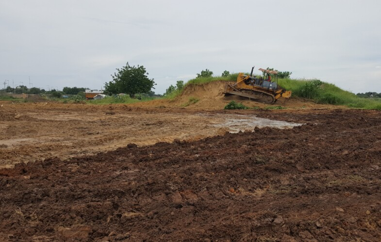 Tchad : le gouvernement aménage le terrain de la basilique pour accueillir les sinistrés d'inondation