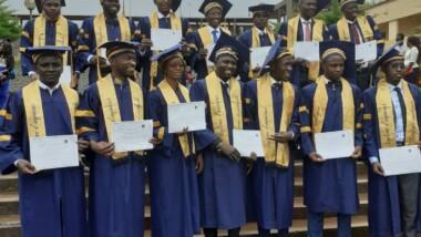 Iyalat: 16 étudiants tchadiens ont reçu leurs parchemins en ingénierie appliquée à l'université de Dschang