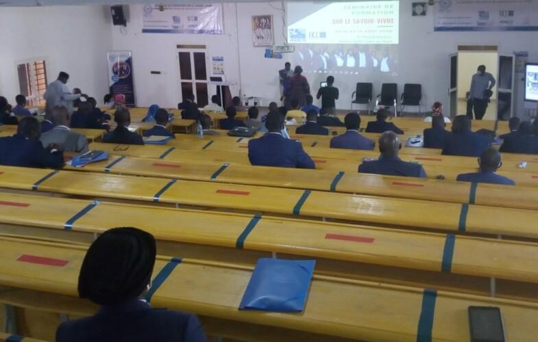Tchad : « Ce séminaire sur le savoir-vivre est une réussite », DG ENA