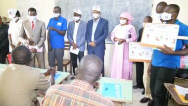 Tchad : l'ADC accompagne la  rentrée académique à l' ENS  de N'Djamena par la sensibilisation contre la covid-19