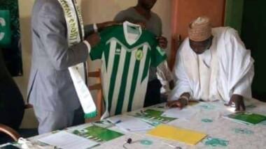 Football : le tchadien Abdoulaye Yacoub signe au Coton Sport de Garoua