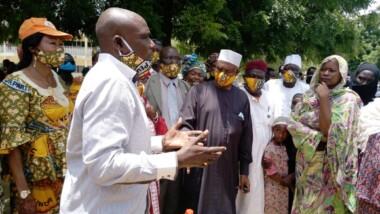 Tchad : l'UNDR vient en aide aux sinistrés des inondations