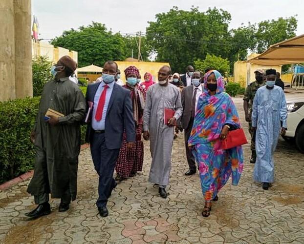 Tchad : la ministre de l'hydraulique en visite à la STE