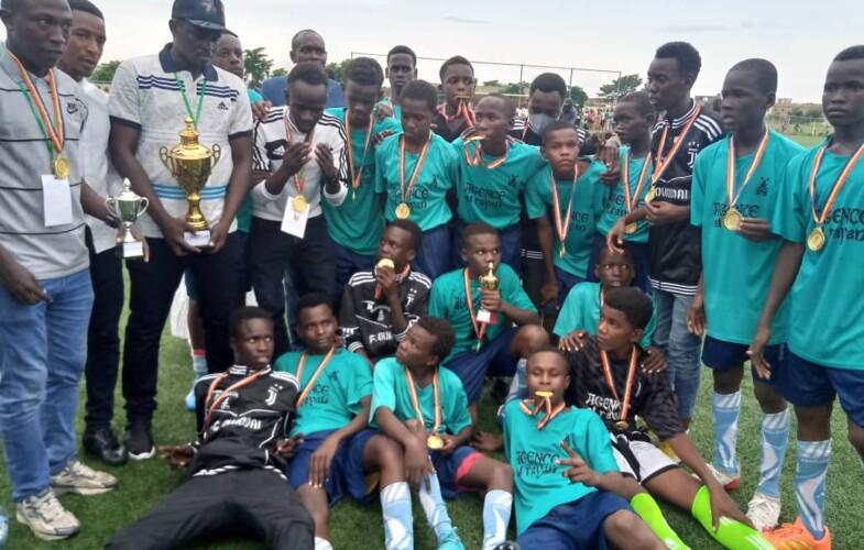 Tchad U-15 : l'équipe d'Abéché Championne nationale de football