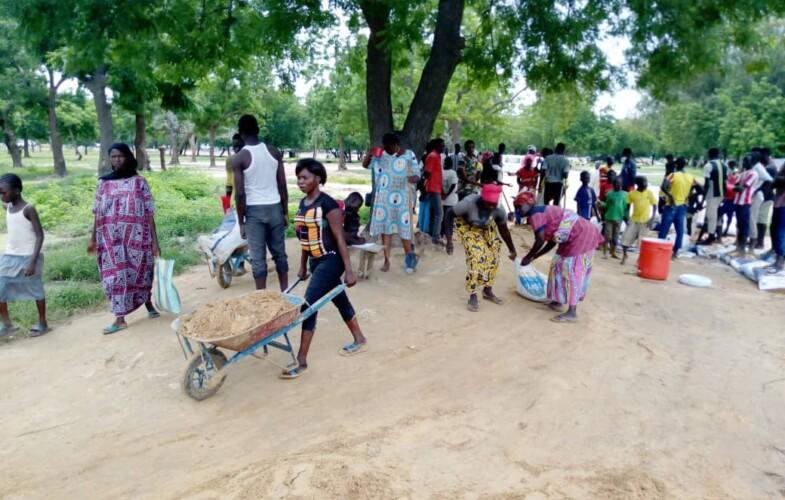 Tchad : l'APDC et ses partenaires aménagent quelques axes du quartier Walia